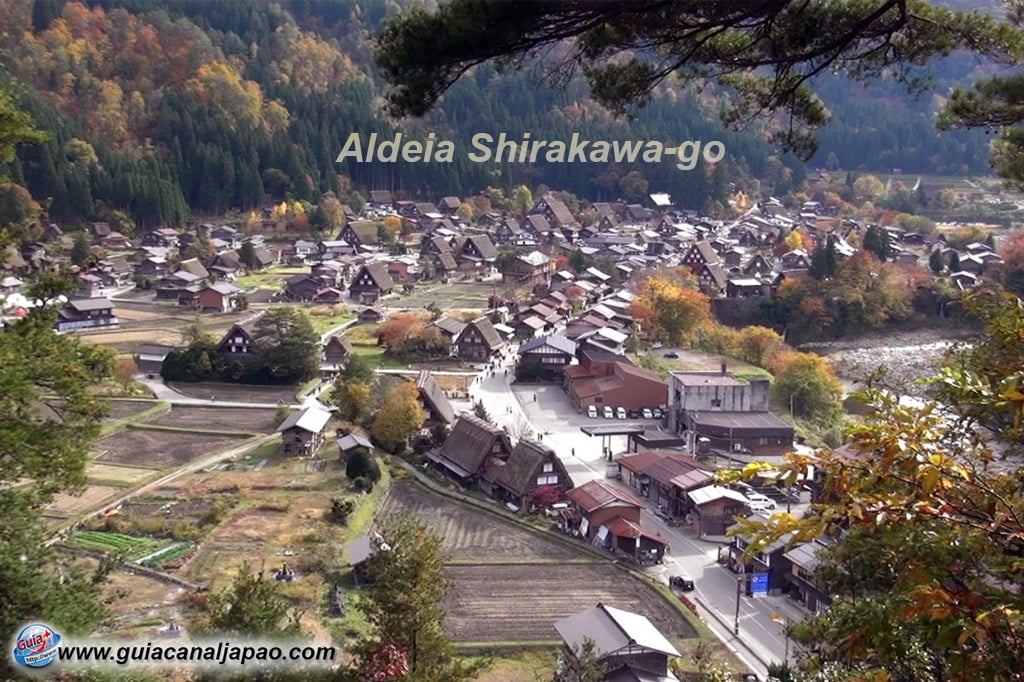 Aldeia Shirakawa-go (白川村) 2