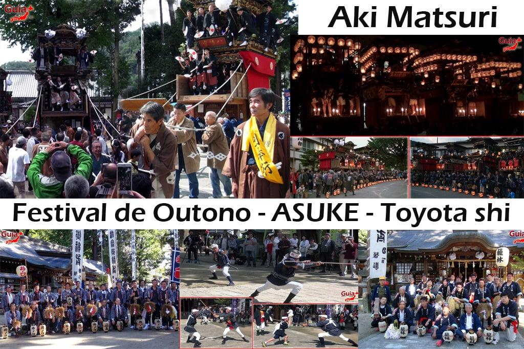 아 스케 아키 축제-Toyota 1 Autumn Festival