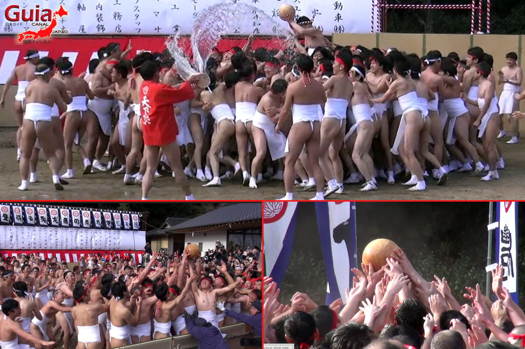 Hadaka Matsuri – Festival dos Homens Nus - Toyota 48