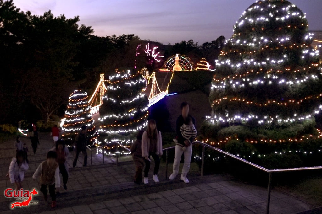Цветочный парк Хамамацу 4 Lighting