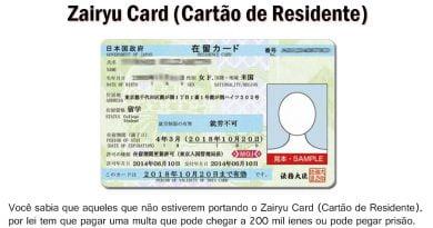 Documento obligatorio por ley - Tarjeta Zairyu 3
