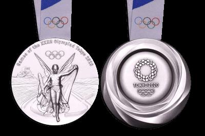 東京2020オリンピックメダル3