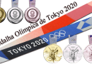 Medalha Olímpica Tokyo 2020