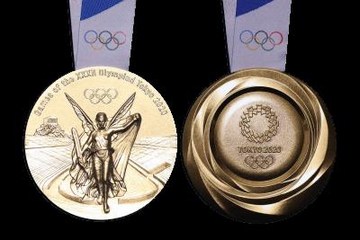 東京2020オリンピックメダル1