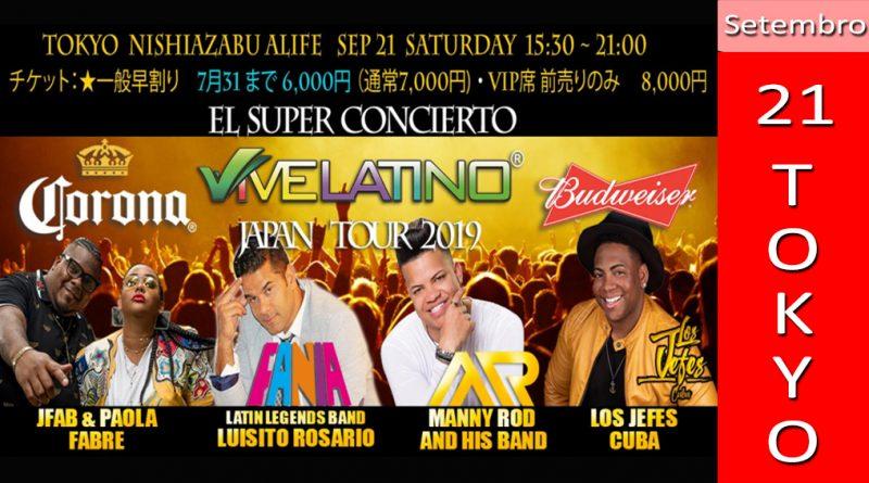 Vivelatino Japan Tour 2019 Tokyo 2