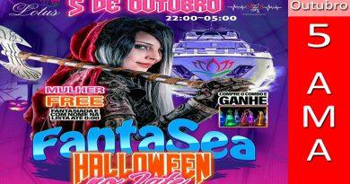 FantaSea Halloween no Iate