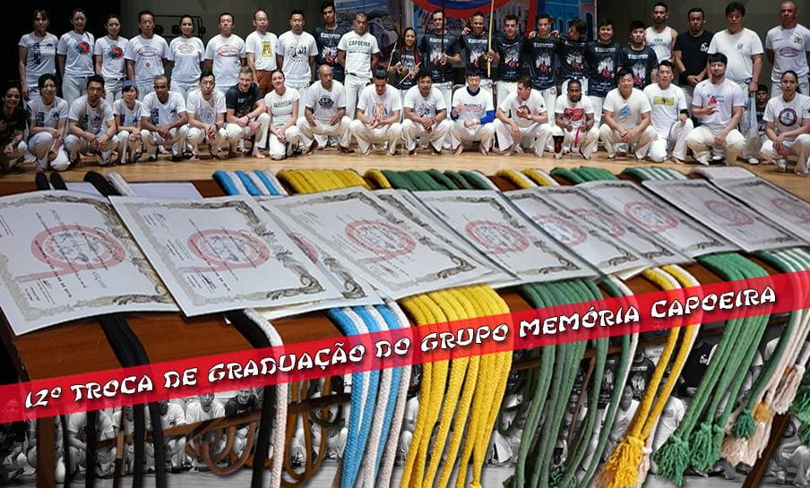 12 Graduation Exchange ng Memory Capoeira Group 2019 1