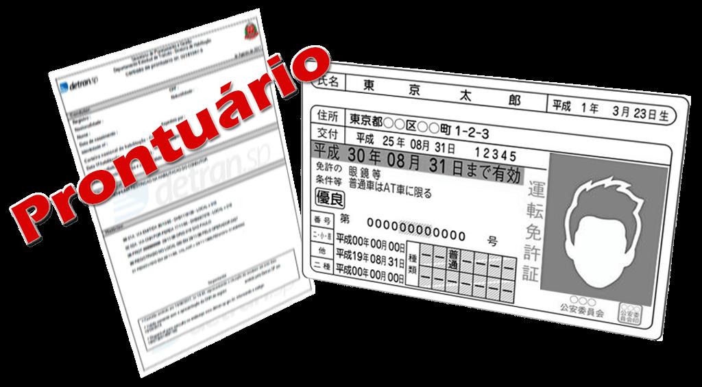 Quais são os documentos necessário quando a Carteira de Habilitação Japonesa estiver vencida ao voltar do brasil 1