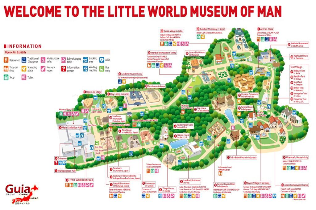 सानो वर्ल्ड - द लिटिल वर्ल्ड एण्ड म्यूजियम अफ म्यान - थीम पार्क Inuyama-shi १ मा