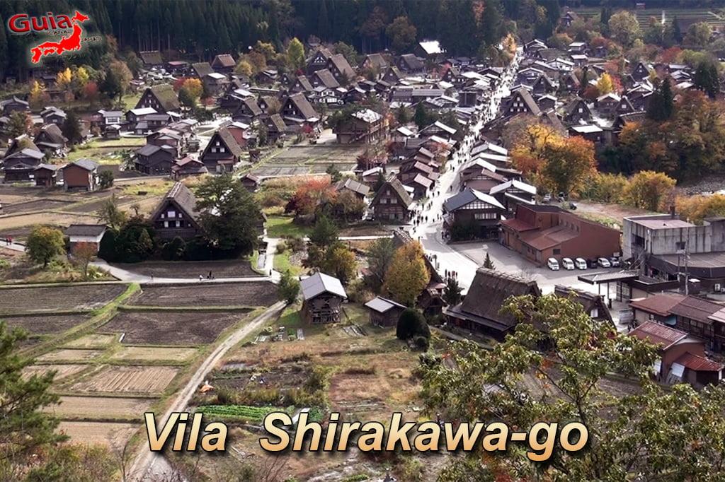 Aldeia Shirakawa-go (白川村) 1