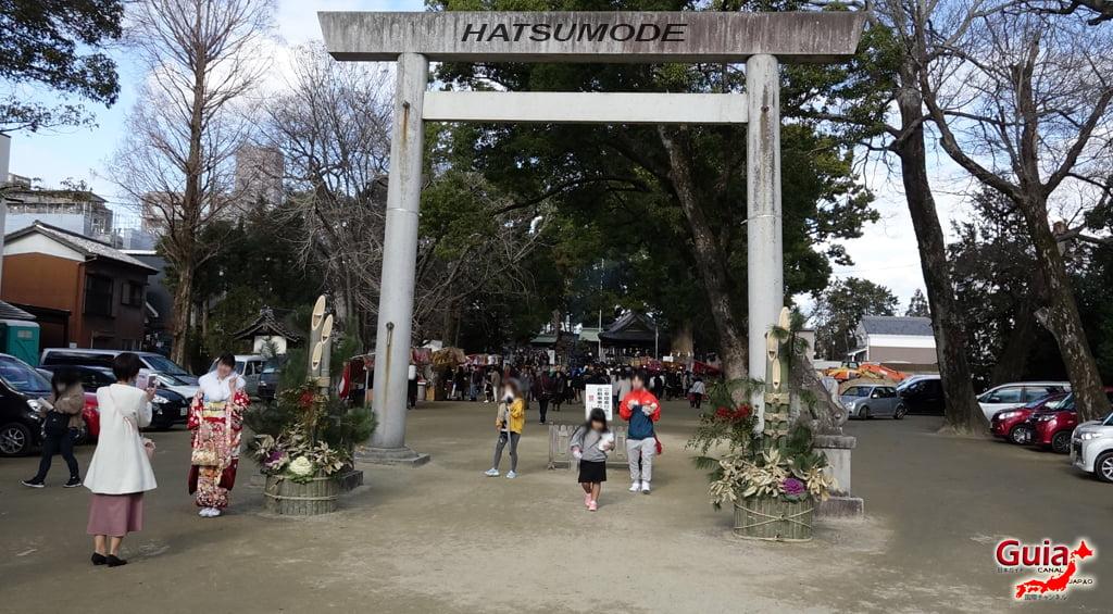 Hatsumode - Primera visita del año al Santuario o Templo 2