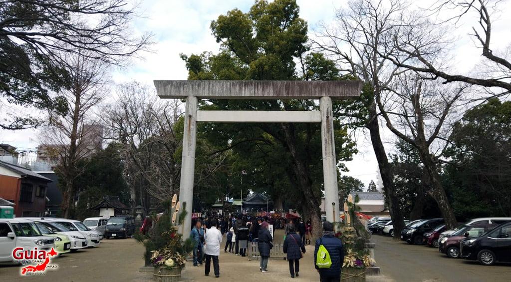 Hatsumode - Primera visita del año al Santuario o Templo 3