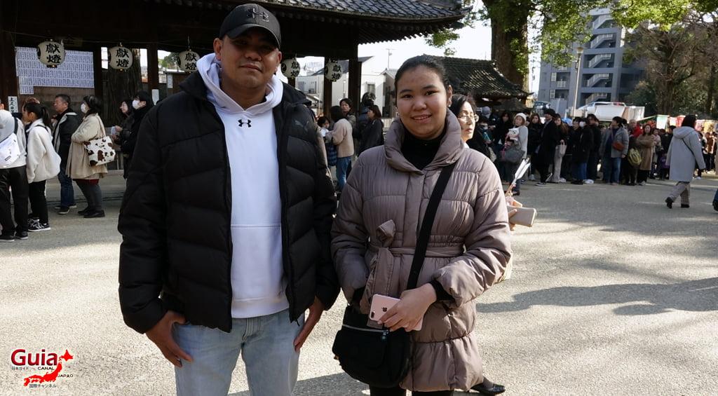 Hatsumode - Primera visita del año al Santuario o Templo 21