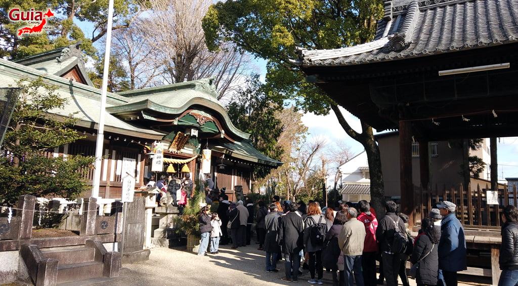 Hatsumode - Primera visita del año al Santuario o Templo 9