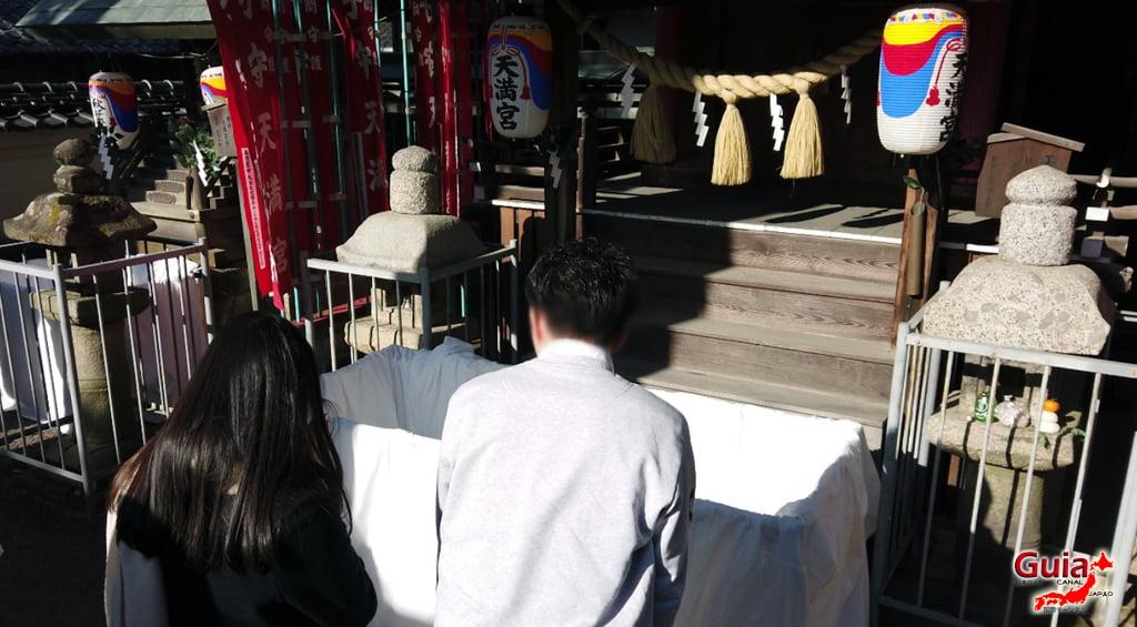 Hatsumode - Primera visita del año al Santuario o Templo 13