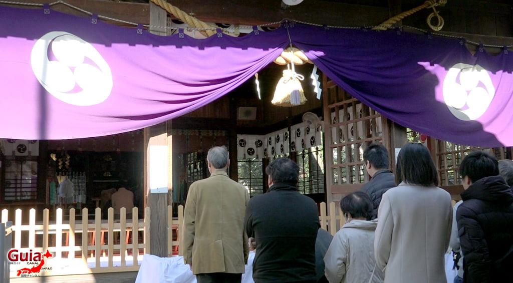 Hatsumode - Primera visita del año al Santuario o Templo 14
