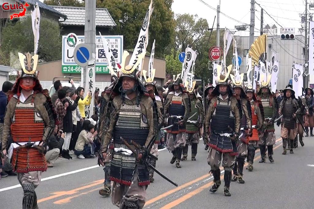 Okazaki Festival das flores de Cerejeira e Desfile do Samurai Ieyasu 10