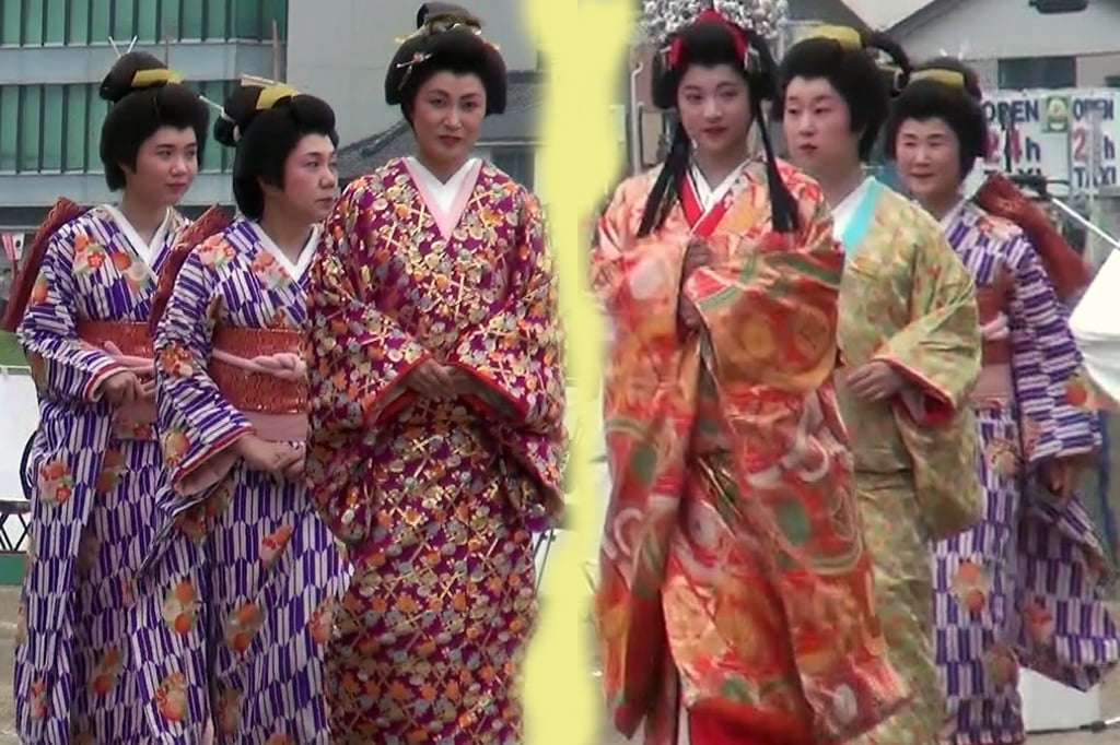 冈崎樱花节和饭康武士游行14