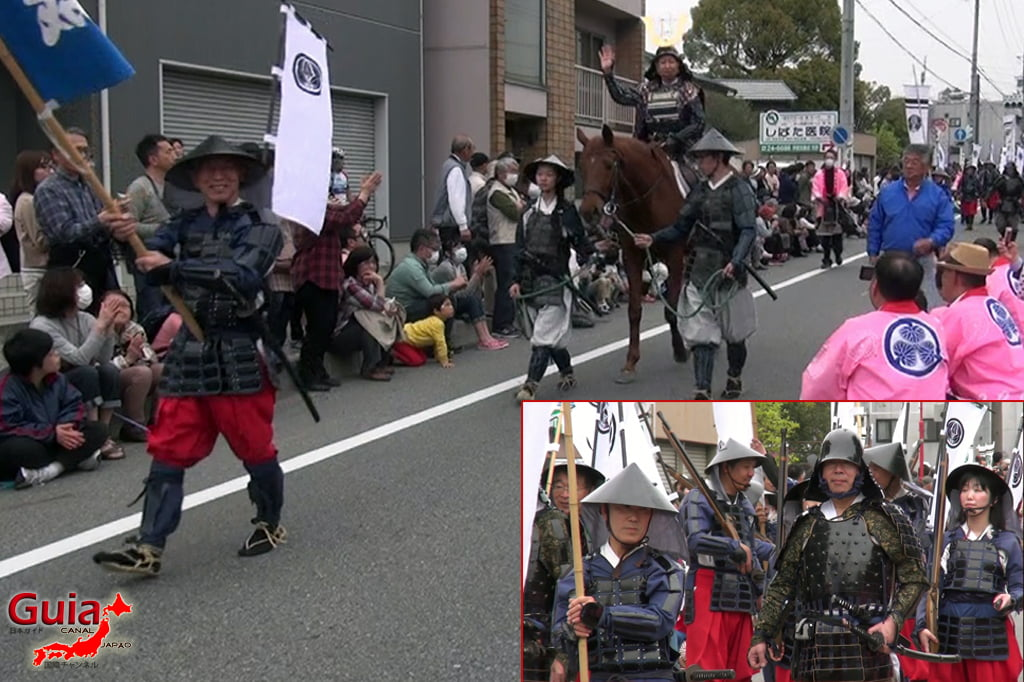 Okazaki Cherry Blossom Festival y Ieyasu Samurai Parade 2