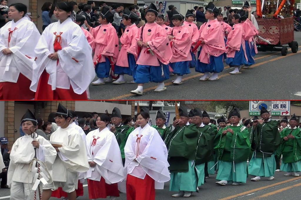 Okazaki Festival das flores de Cerejeira e Desfile do Samurai Ieyasu 3