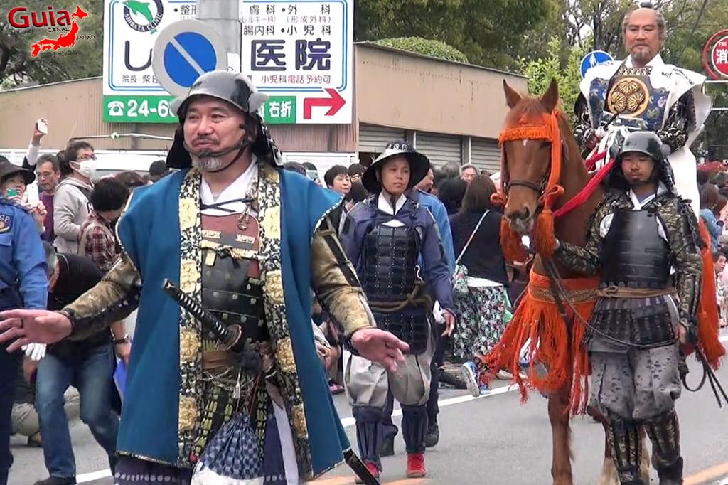 Okazaki Cherry Blossom Festival y Ieyasu Samurai Parade 6