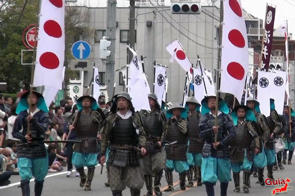 Okazaki Festival das flores de Cerejeira e Desfile do Samurai Ieyasu 8