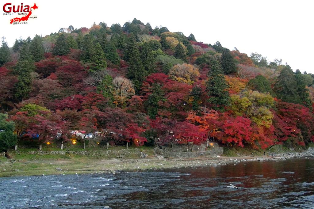 Park Korankei (香 嵐 渓) Toyota 26 Musim Gugur Daun