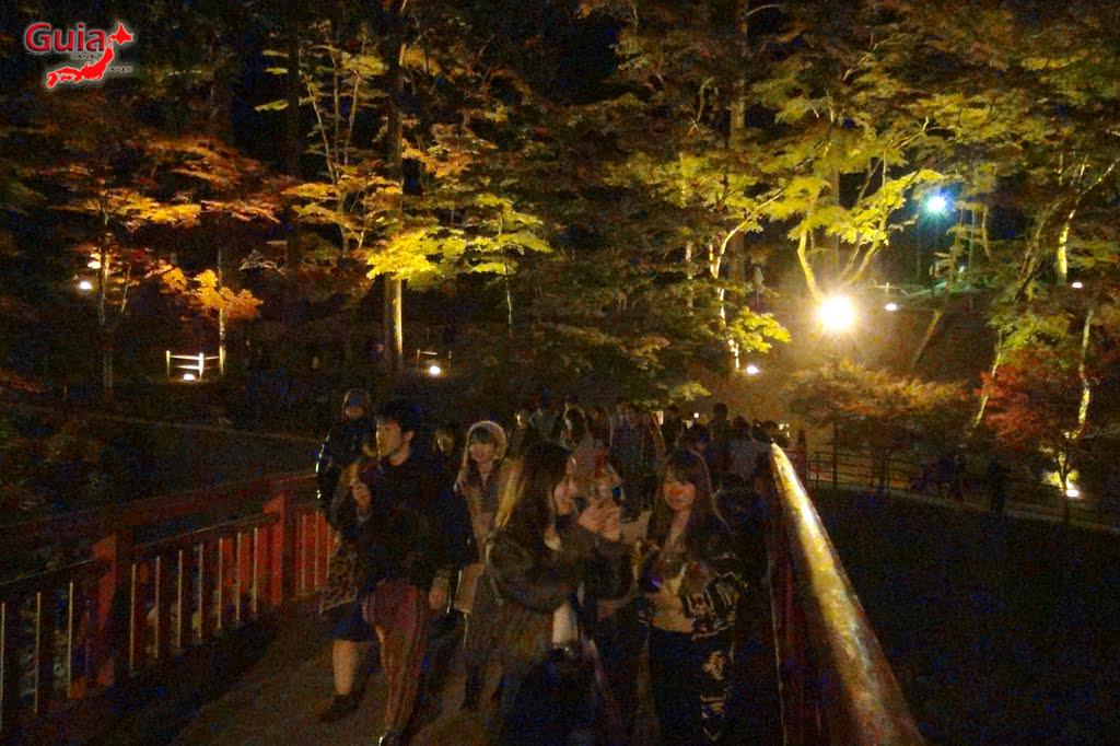 Park Korankei (香 嵐 渓) Toyota 32 Musim Gugur Daun
