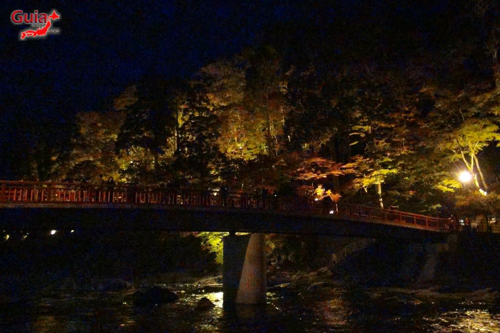 Park Korankei (香 嵐 渓) Toyota 33 Musim Gugur Daun