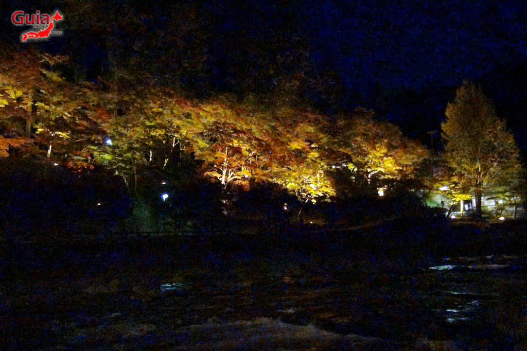 Park Korankei (香 嵐 渓) Toyota 36 Musim Gugur Daun