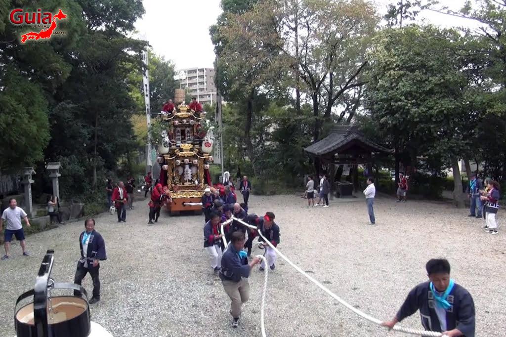미요시 10 월 축제-Tennojinja Akino Reitaisai 16 Festival