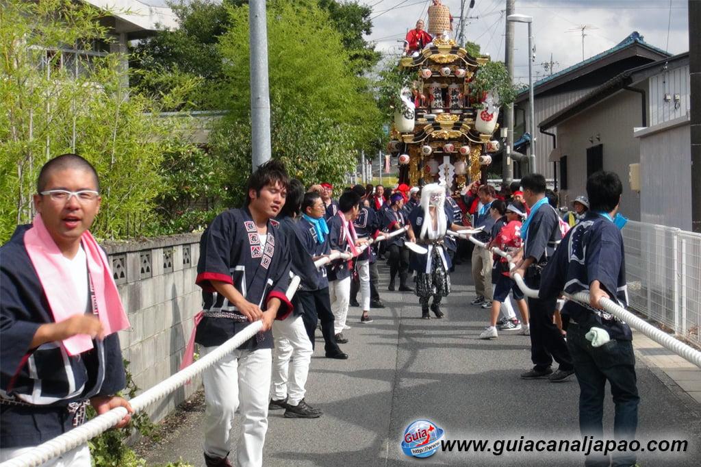 미요시 10 월 축제-Tennojinja Akino Reitaisai 5 Festival