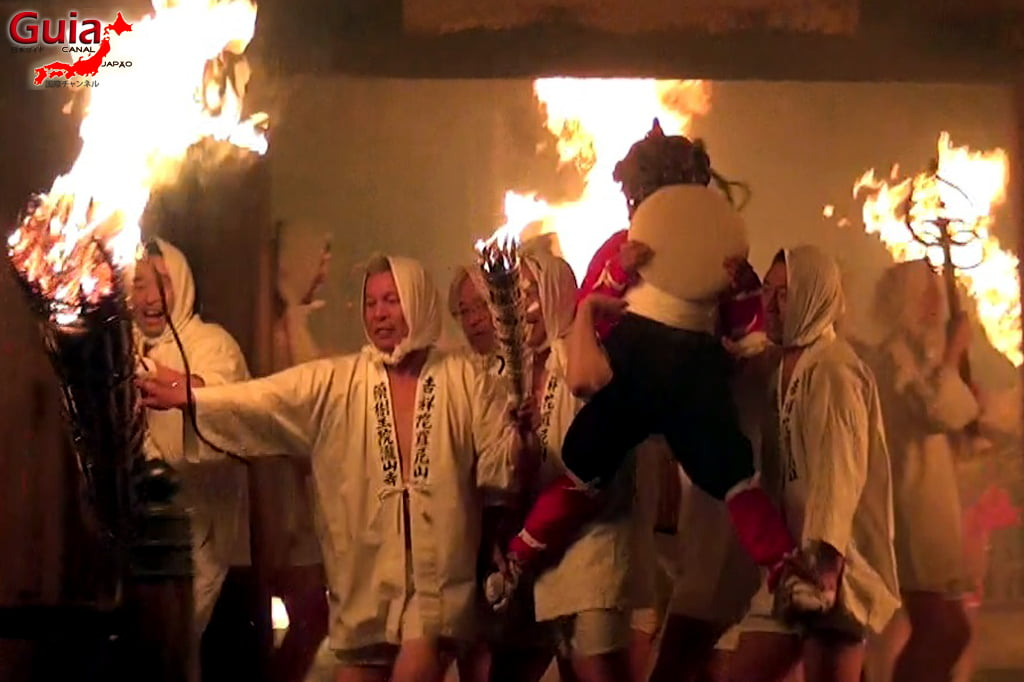 Okazaki Oni Matsuri - Ang 23 Ogre at Fire Festival