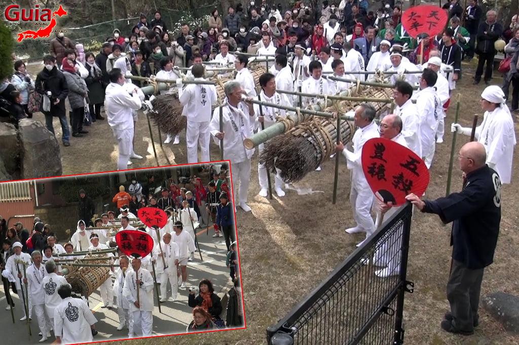 Okazaki Oni Matsuri - Ang 4 Ogre at Fire Festival