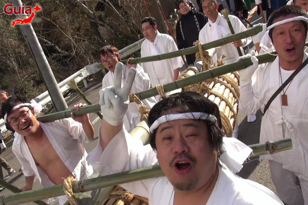 Окадзаки Они Мацури - фестиваль огров и огня 5