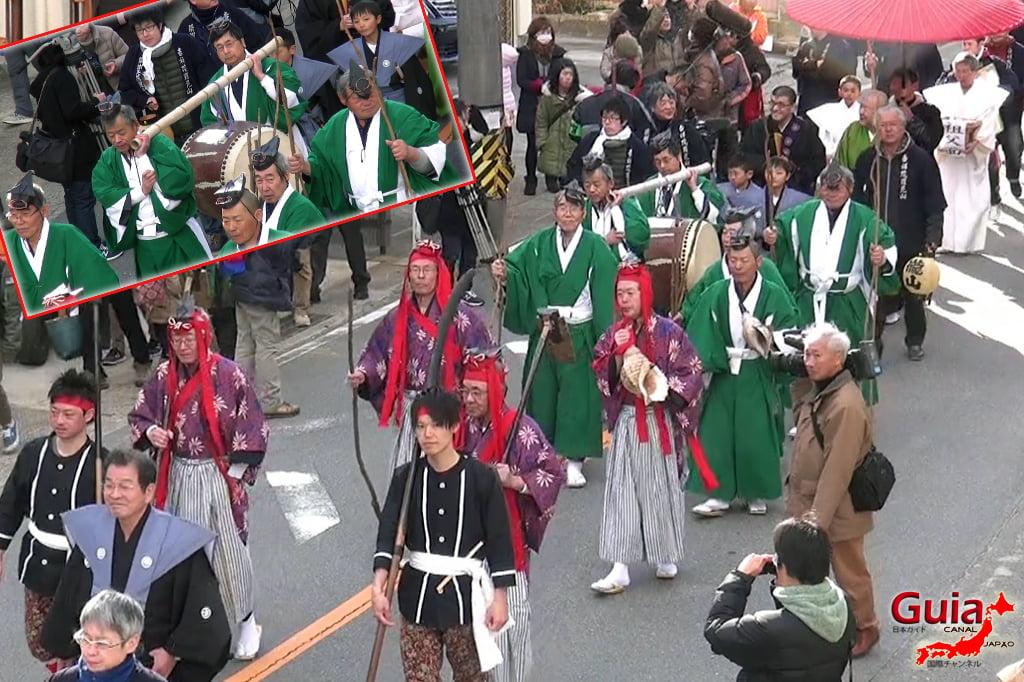 Окадзаки Они Мацури - фестиваль огров и огня 6