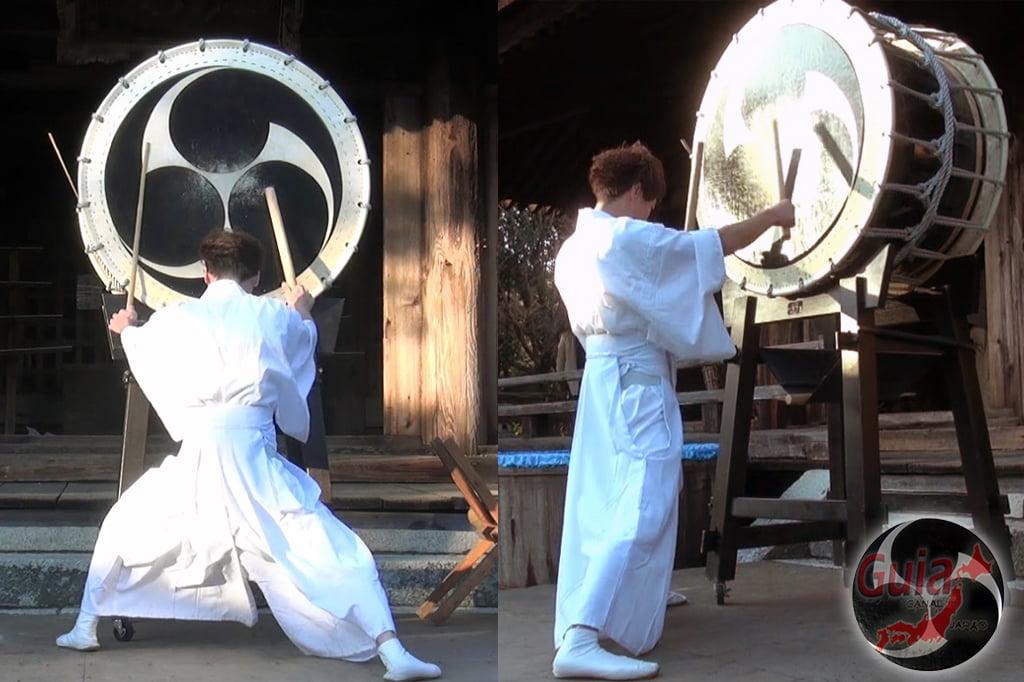 Окадзаки Они Мацури - фестиваль огров и огня 8