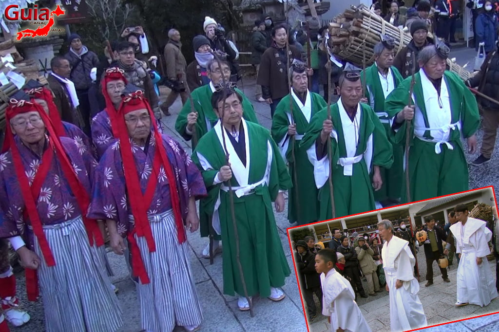 Okazaki Oni Matsuri - Ang 10 Ogre at Fire Festival