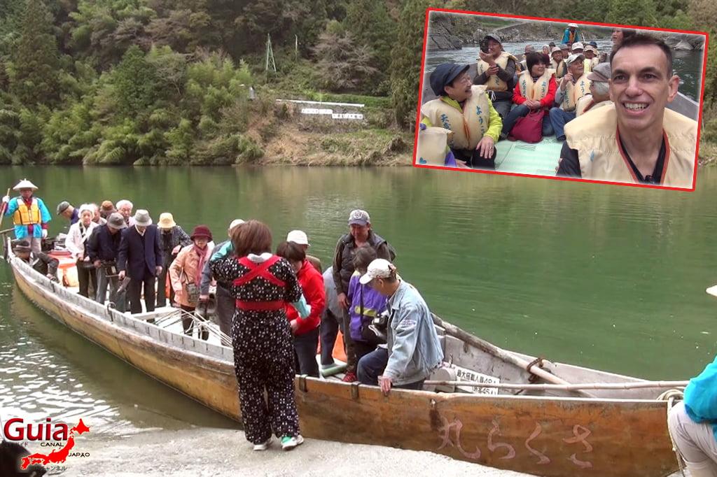 Passeio de barco pelo rio Tenryu - Iida 11