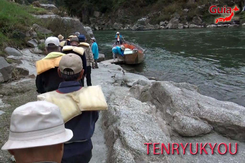 Passeio de barco pelo rio Tenryu - Iida 6