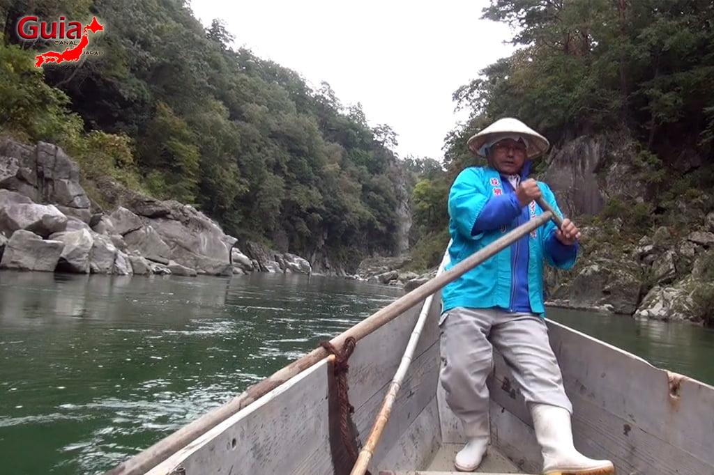 Passeio de barco pelo rio Tenryu - Iida 7