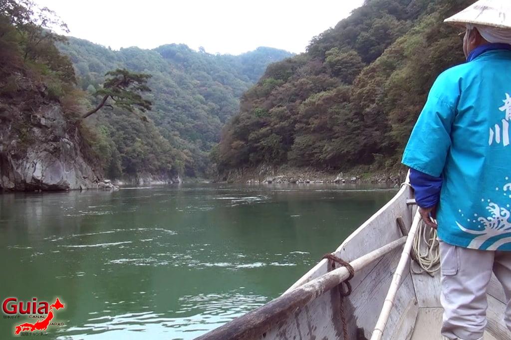 Passeio de barco pelo rio Tenryu - Iida 9