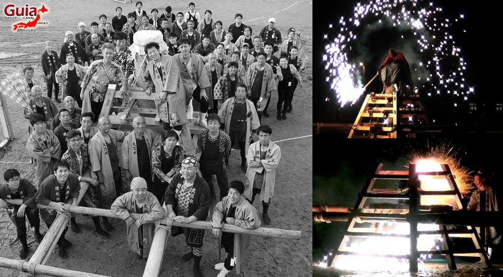 Festival de Outono - Queima de fogos de mão do Santuário Ooshimizu 1