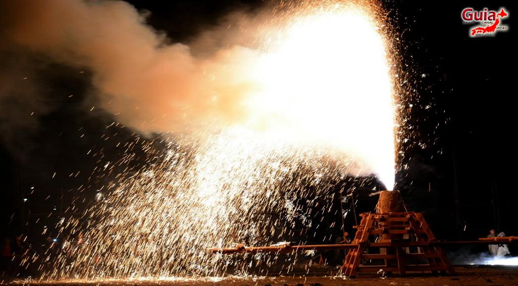 Festival de Outono - Queima de fogos de mão do Santuário Ooshimizu 13