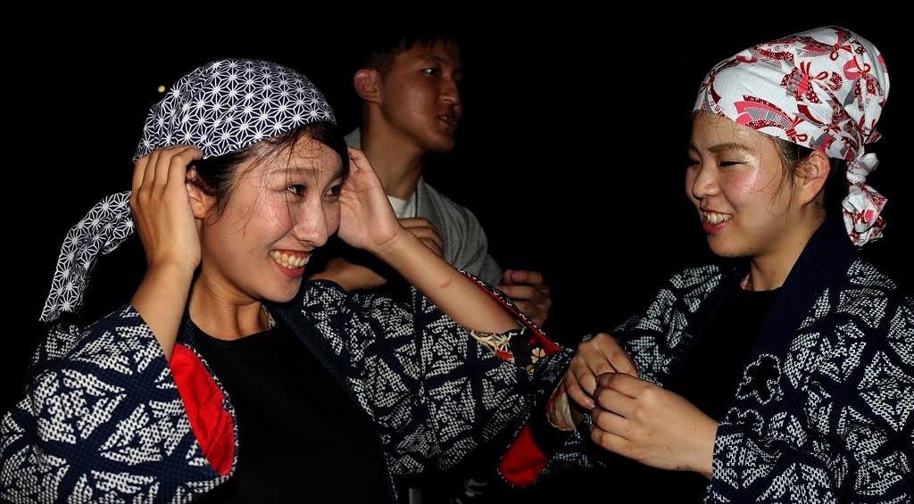 Autumn Festival - Ooshimizu Shrine Hand Firing 3