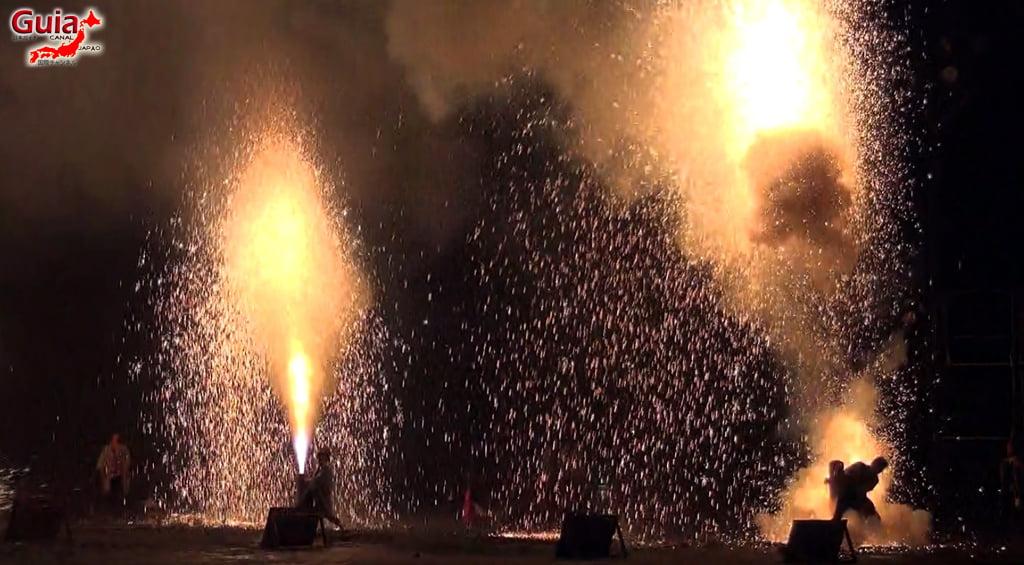 Festival de Outono - Queima de fogos de mão do Santuário Ooshimizu 33