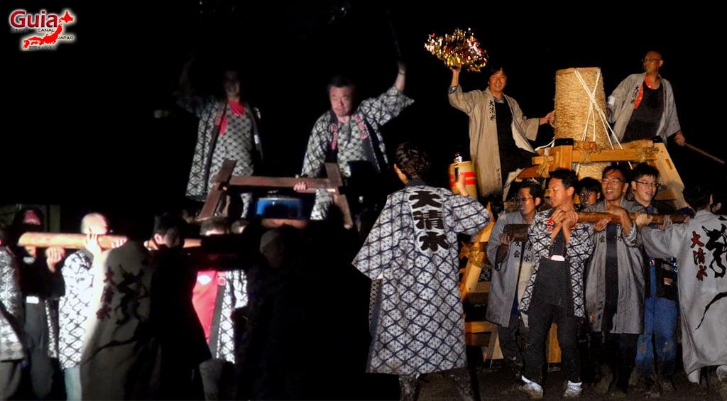 Festival de Outono - Queima de fogos de mão do Santuário Ooshimizu 5