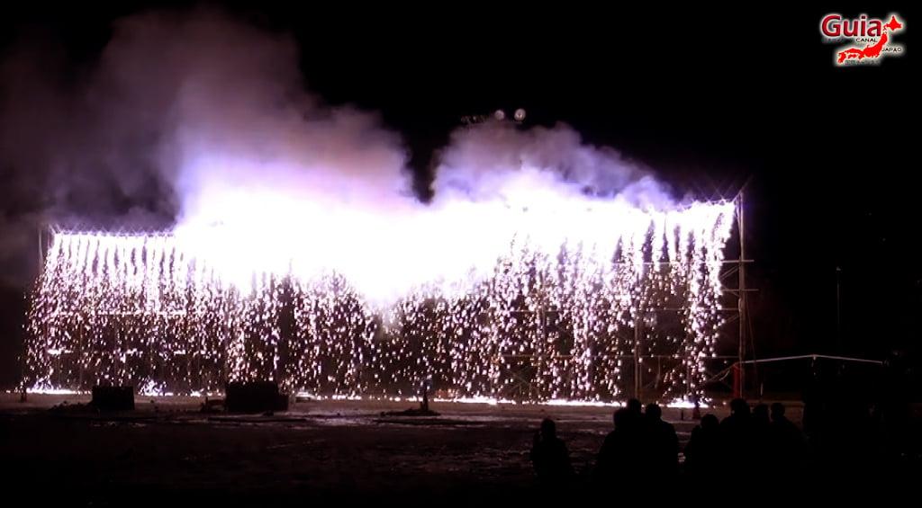 Festival de Outono - Queima de fogos de mão do Santuário Ooshimizu 8