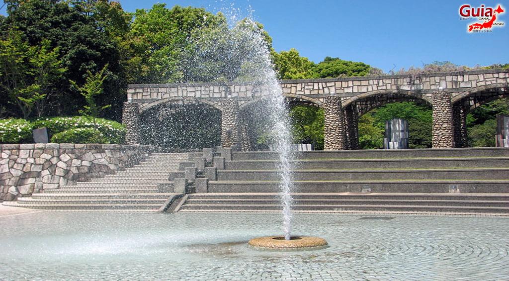 Обу Мидори цэцэрлэгт хүрээлэн 大 大 府 み ど り 公園 」3