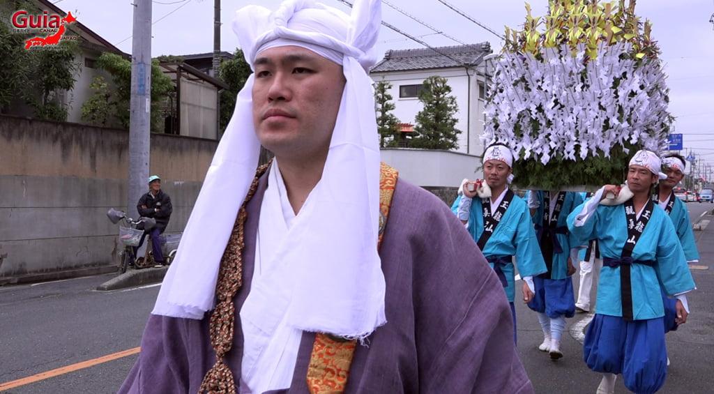 เทศกาล Kashyouzanmai (ไฟศักดิ์สิทธิ์) Toyohashi 3